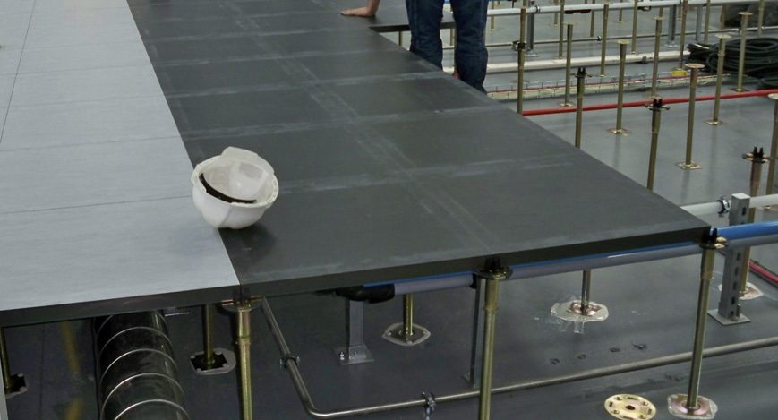 Calcium Sulphate Indigo Raised Access Floor