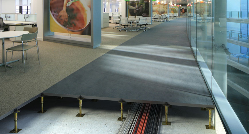 Indigo Raised Access Floor for Offices
