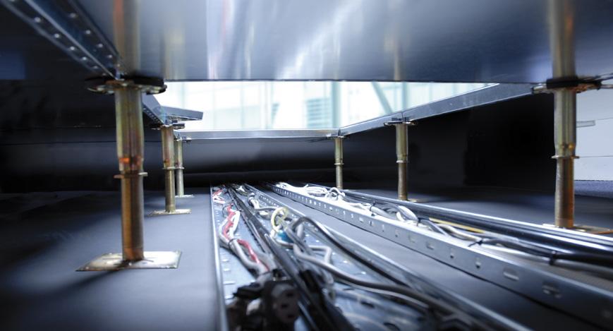 Plenum - Indigo Raised Access Floor