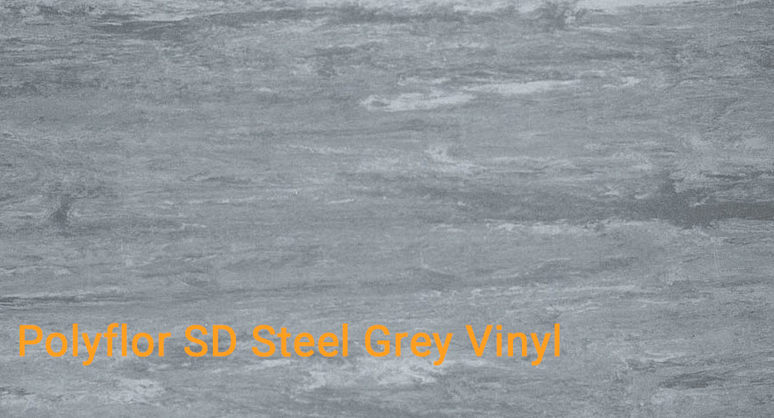 Polyflor SD Steel Grey Vinyl
