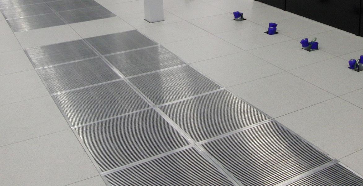 Specialist floor panels - air grilles