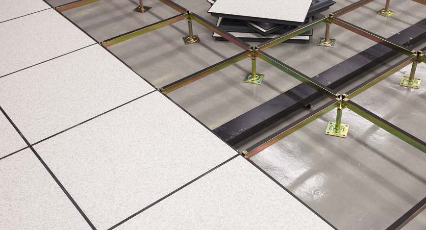 crimson raised access floor system